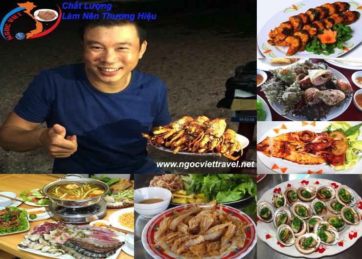 TOUR BÌNH HƯNG - Xe Giường Nằm, Ăn Tôm Hùm